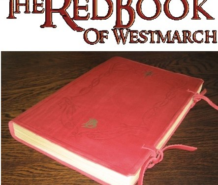 Remember the Red Book Bilbo Writes In During The Hobbit? Found It. And It's Beautiful.