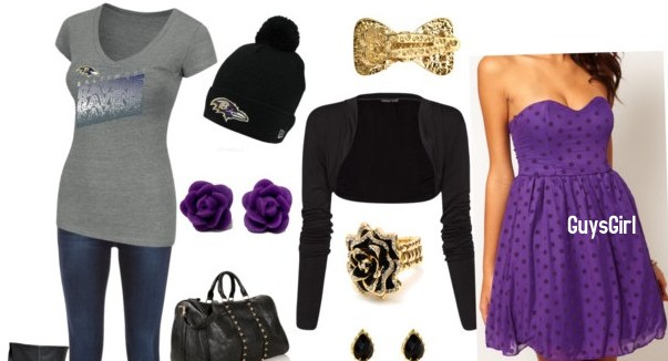 Baltimore Ravens Casual and Dressy Outfit Ideas That Are Under $100