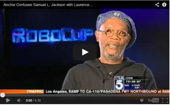 WATCH: Samuel L. Jackson Loses It When He's Mistaken For Laurence Fishburne