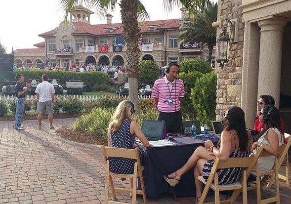 Live coverage at 'THE PLAYERS' golf tournament