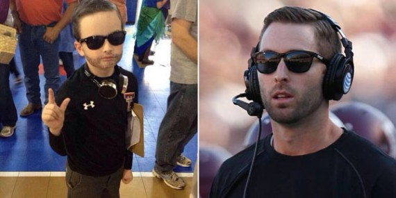 12 adorable kids dressed up as coaches for Halloween