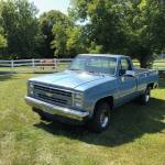 Low Mileage Square Body 1985 Chevy Silverado Sold Guyswithrides Com