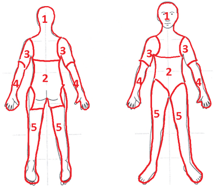 BODY CHART FOR PAIN