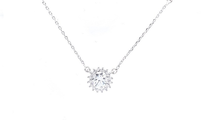 CHrysalini CCN006 necklace with cubic zirconia $27