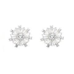 Chrysalini BAE0040 Art style stud earrings $25