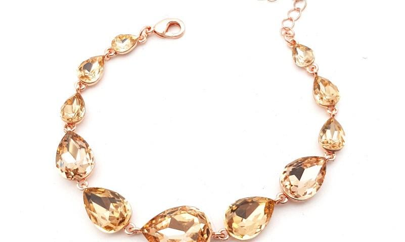 Chrysalini Cb1024 rose gold bracelet $39