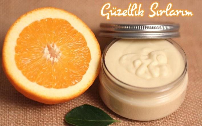 Yoğurt ve Portakallı Gece Kremi