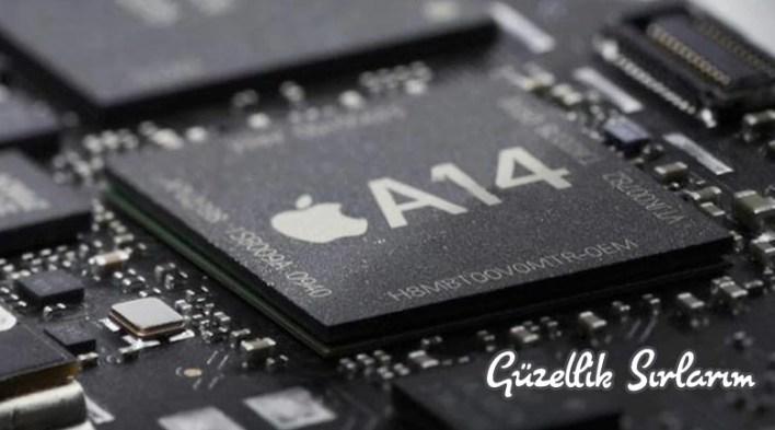 Apple A14 Bionic işlemci yongası