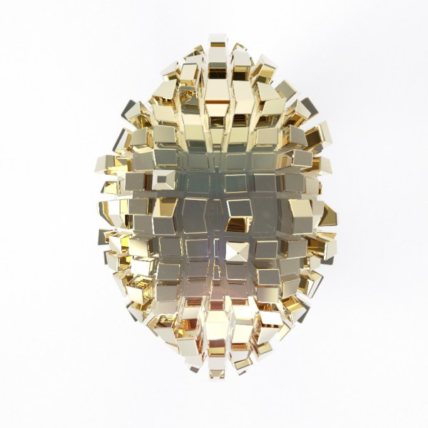 Metropolis – 14k Yellow gold