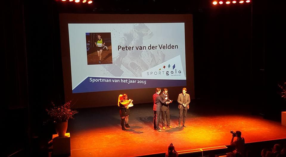 Peter van der Velden Sportman 2015