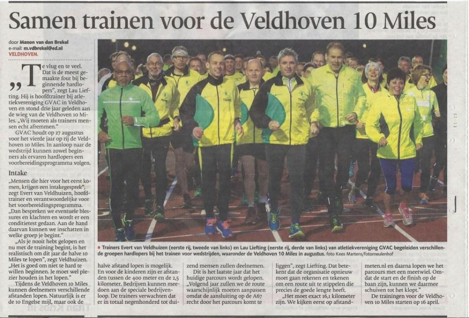 Artikel Eindhovens Dagblad