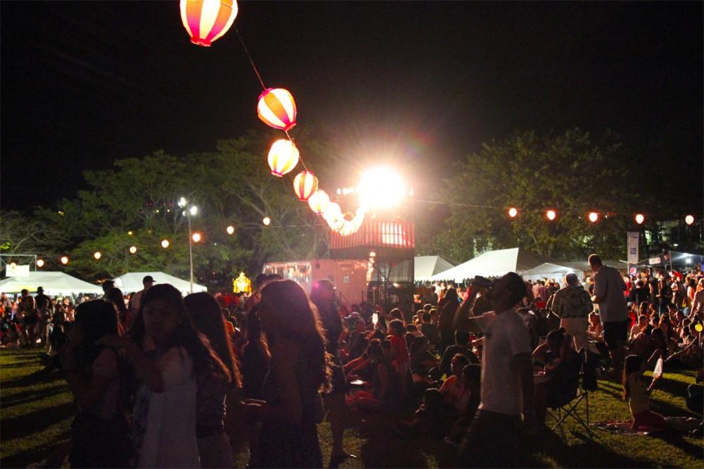 第33回 グアム日本人会秋祭りの様子 (2012年)
