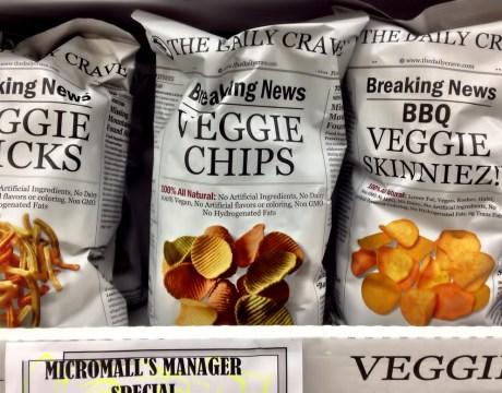 The Daily Crave社のベジスナックは3種類 ペイレススーパーマーケット