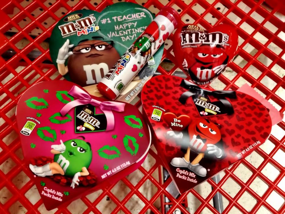 M&M($6.49) Kマートのバレンタイン商品