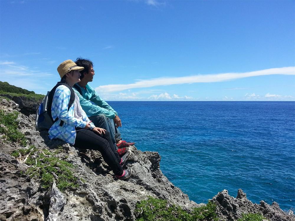 パガットケーブから太平洋を望む (アイランドジャーニーグアム)