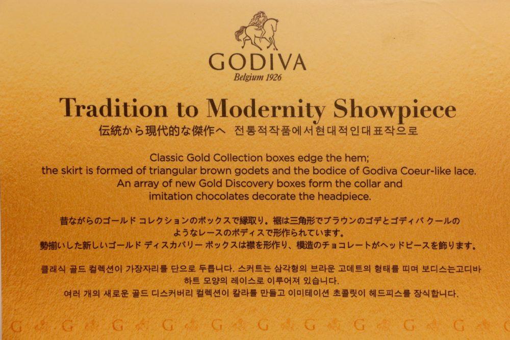 GODIVAのゴールドディスカバリー(Tギャラリアグアム)