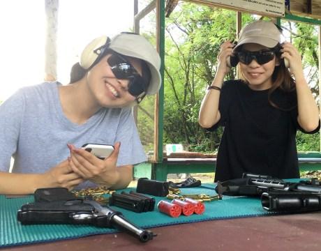 グアムの公式射撃場で実銃を撃とう! CQB Guam