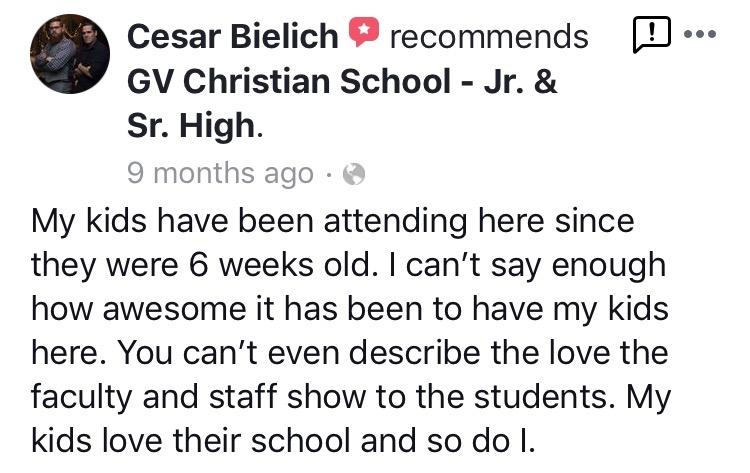 Jr. & Sr. High FB Review