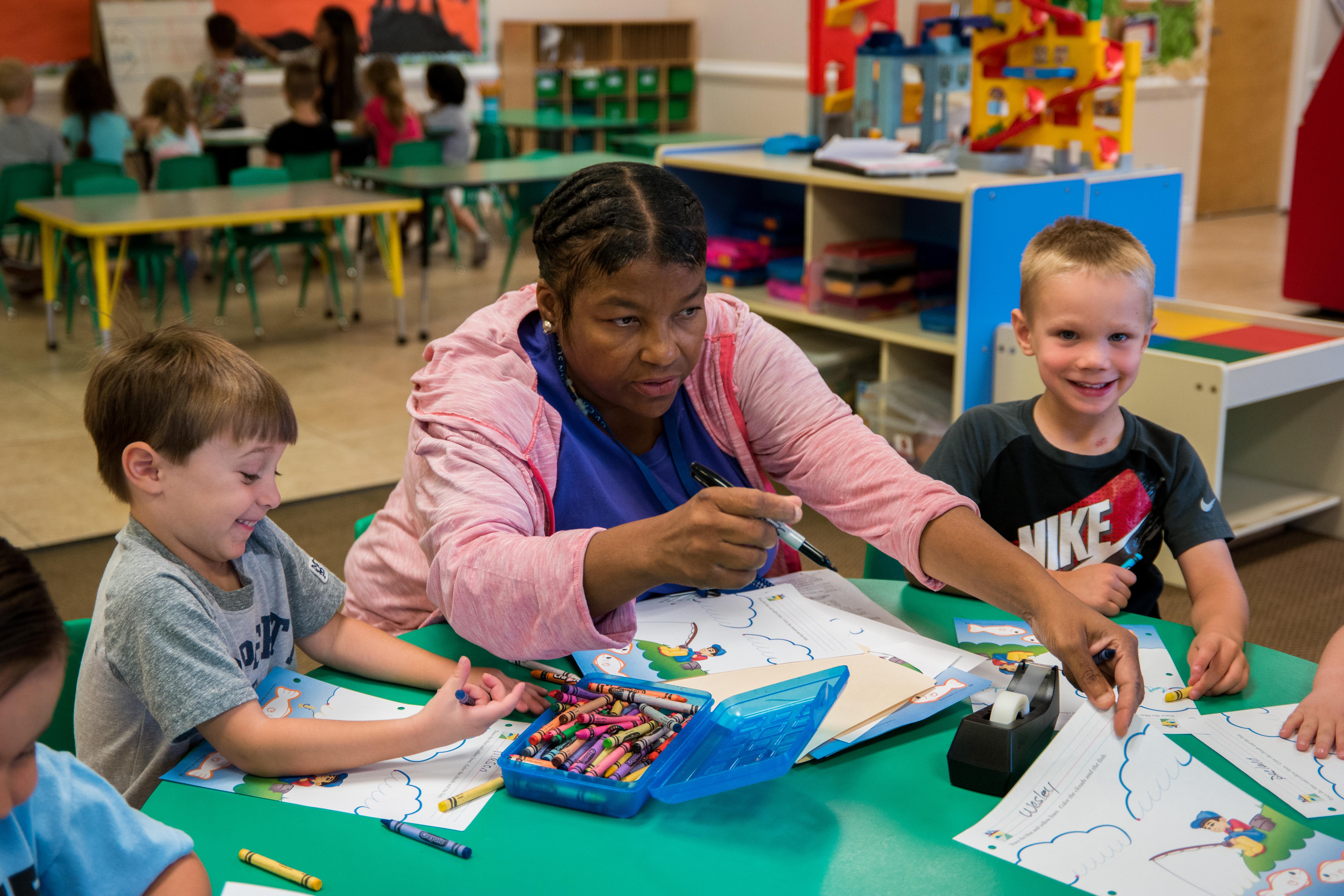 Kinder Prep Learning Station