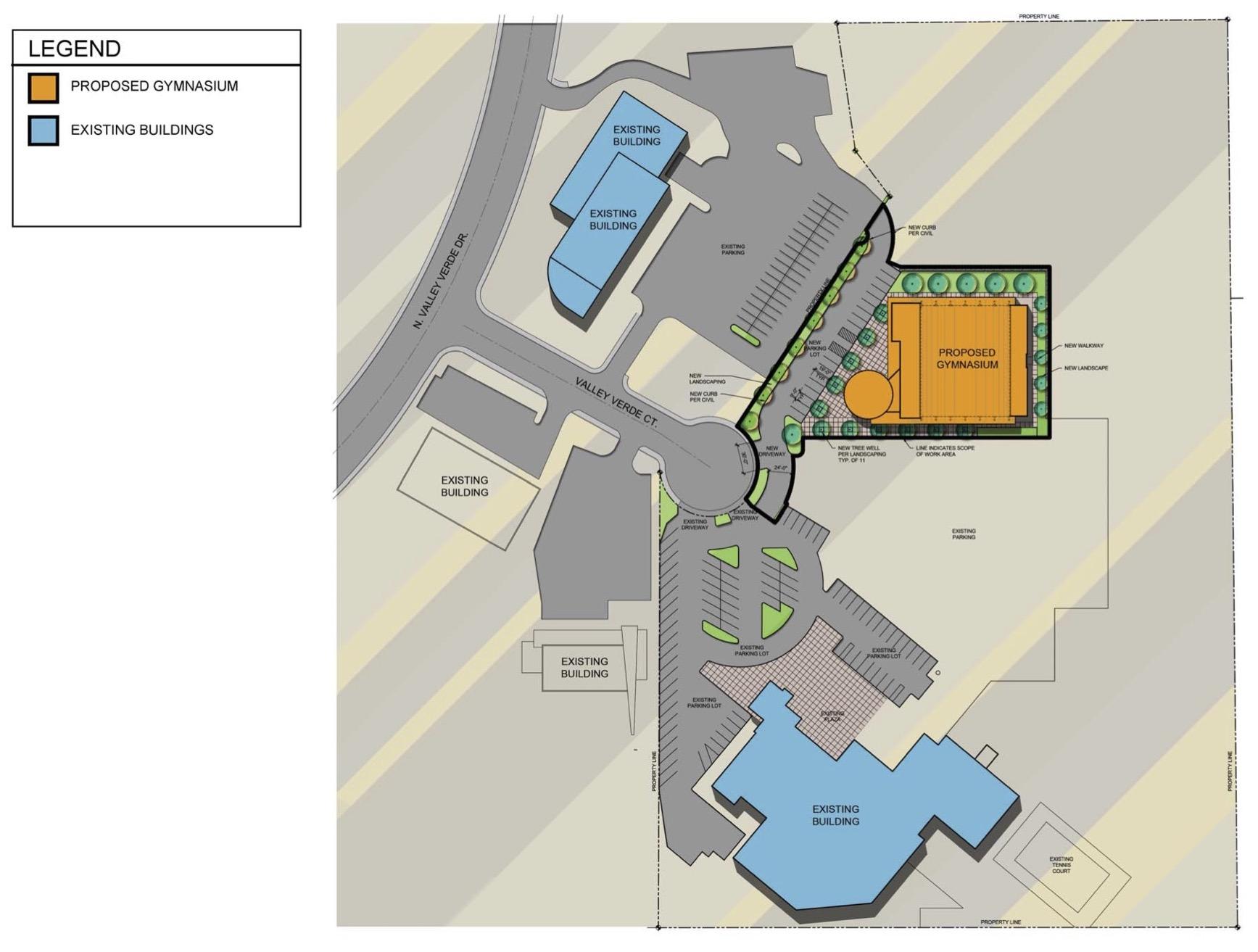 GVCC- Community Center-Gymnasium Schematic Design Drawings 10.9.19 1