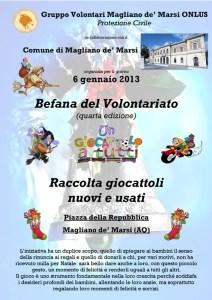 Locandina Befana 2013 (Magliano)