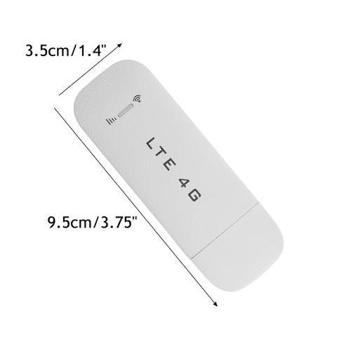 4G Wireless USB LTE Modem With Wi-Fi Hotspot 150MBPS