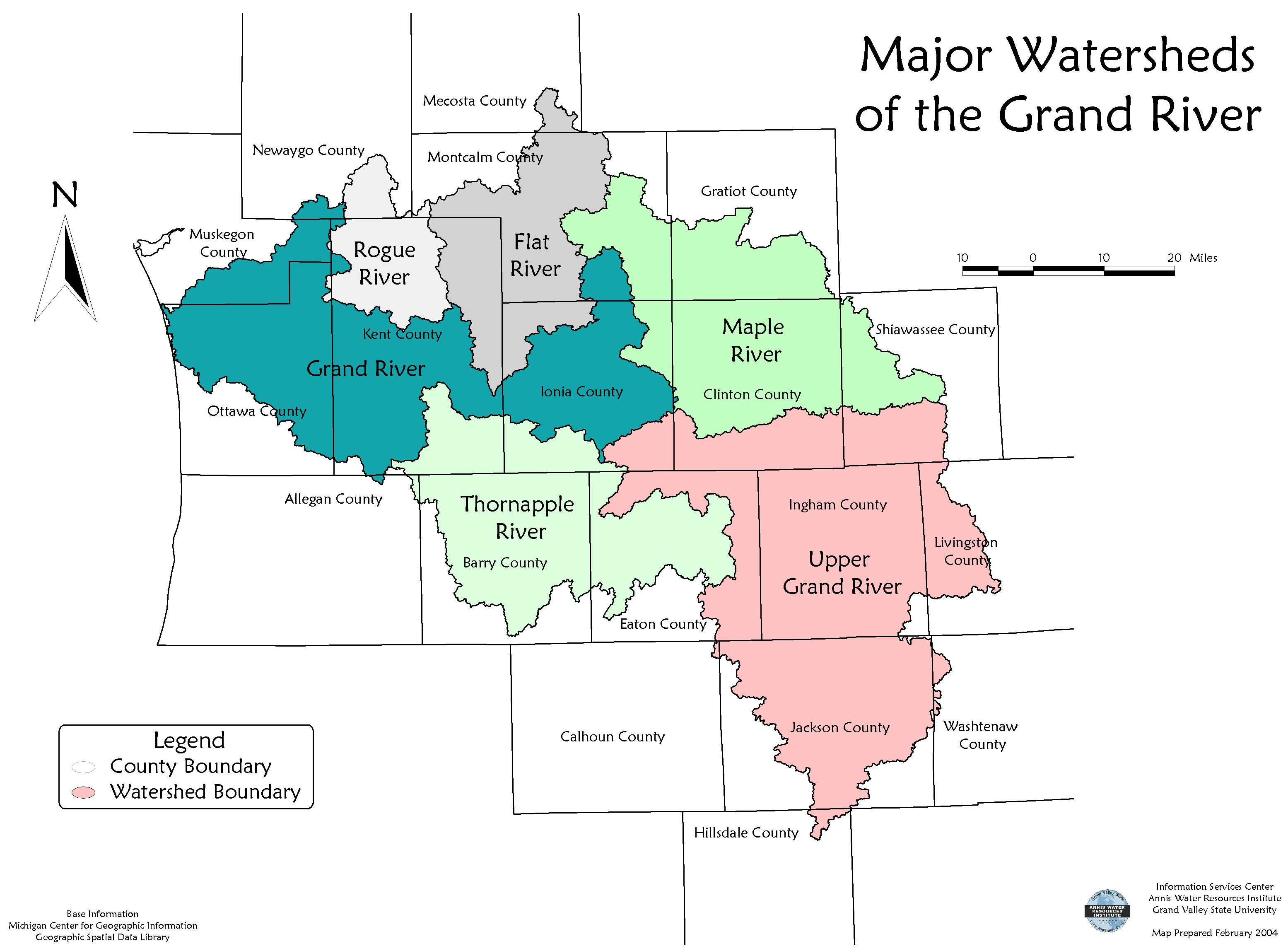 Lower Grand Watershed Interactive Tool Wit