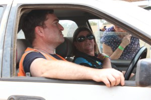 Leasa Toll, President of Junee's Rhythm n Rail Festival, visited and got a close up view of the action Highlights from Shannon's Classic Vintage Speedway event Illabo Motorsport Park -- March 10, 2019 Photo by Tristan Levy Photography