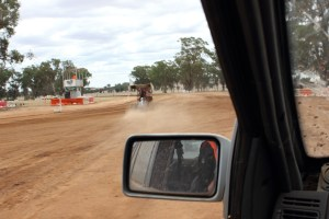Up close and personal -- A view from a push car Highlights from Shannon's Classic Vintage Speedway event Illabo Motorsport Park -- March 10, 2019 Photo by Tristan Levy Photography