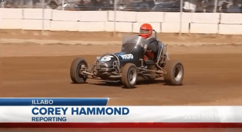Corey Hammond of WIN News Riverina reports on Inaugural Speedway at Illabo Motorsport Park