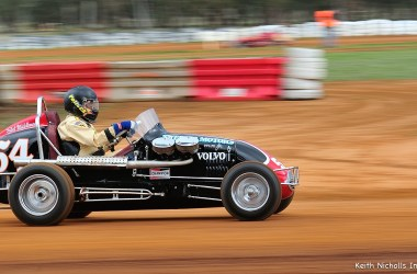 Speedcars -- Sid Middlemas Tribute Meeting Illabo Motorsports Park August 18, 2018 Photo by Keith Nicholls