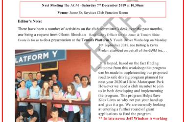 Gasworks Newsletter Cover Issue 006