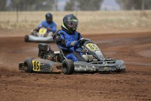 """Jarrod Campbell at """"Full Noise"""" having a Squirt in the Dirt llabo Motorsport Park, March 10, 2019"""