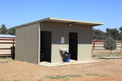 The new Unisex, Accessible Amenity Block at Illabo Motorsport Park
