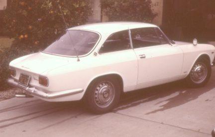 GTV white in driveway 2