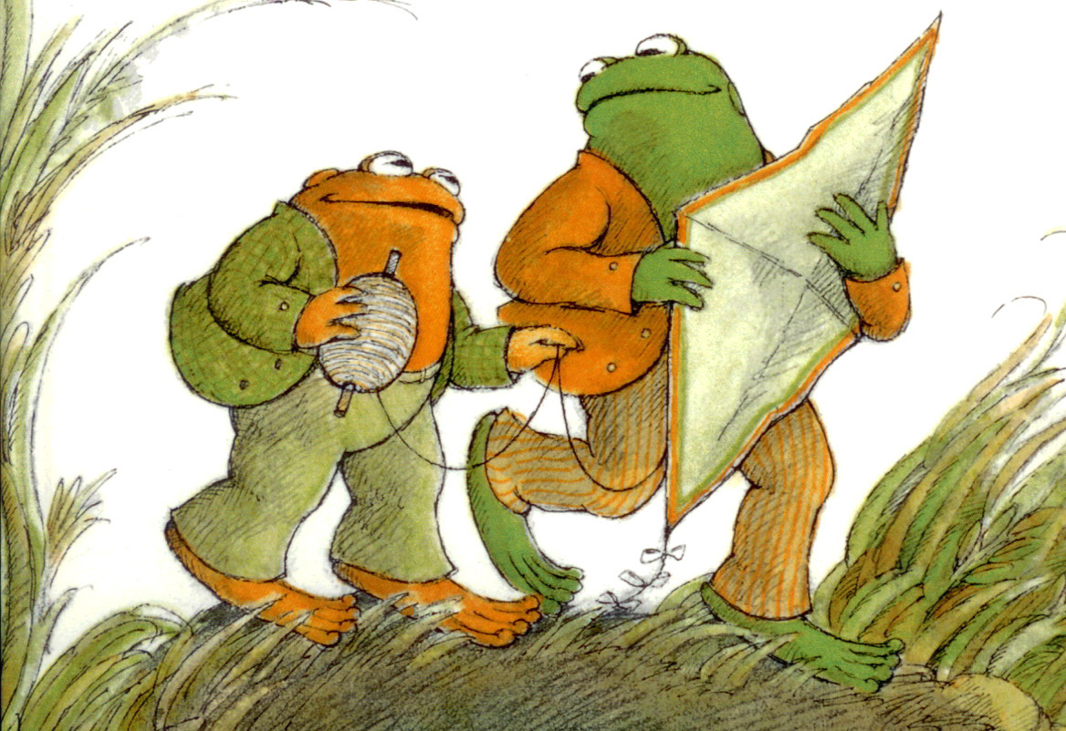 Frog And Toad Fly Kites