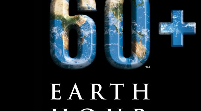 Earth Hour 2017 – Sat March 25th – 8.30pm