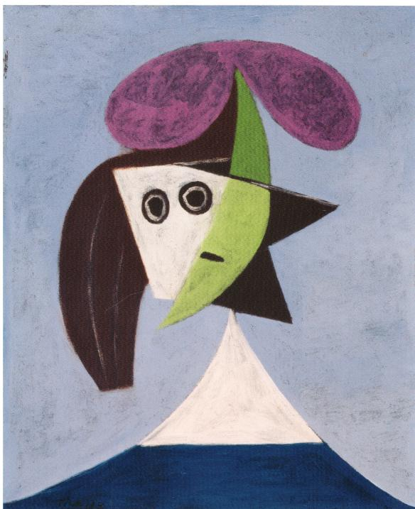 Picasso- Woman in a Hat (Olga)