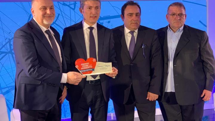 """Casa Sanremo, """"Premio Winter Edition"""" a Tommaso Pellegrino"""