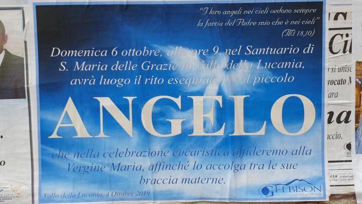 L'ultimo saluto di Angelo, in chiesa Domenica - Gwendalina.tv