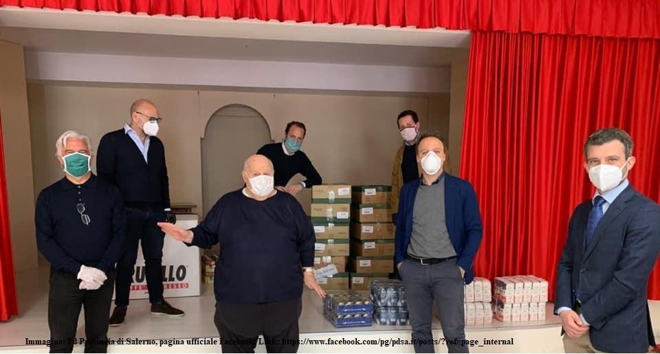 Festa della Liberazione: il Pd dona alimenti - Gwendalina.tv