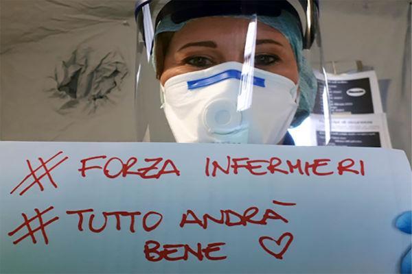 """Covid-19, le parole di un infermiere: """"Sembra un incubo"""" - Gwendalina.tv"""