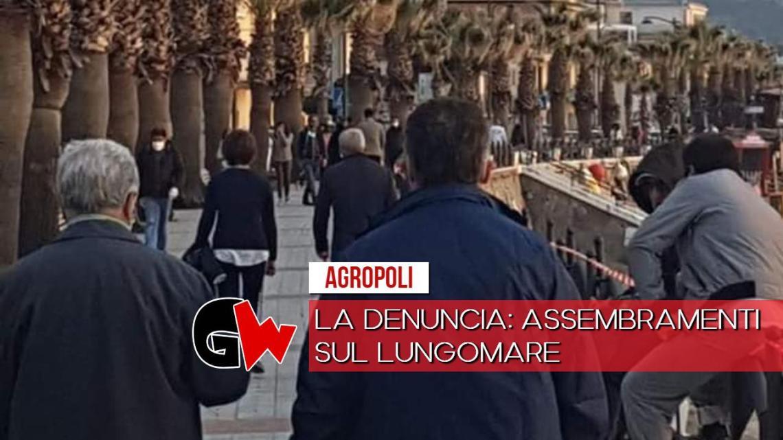 Agropoli, la denuncia: assembramenti sul lungomare - Gwendalina.tv