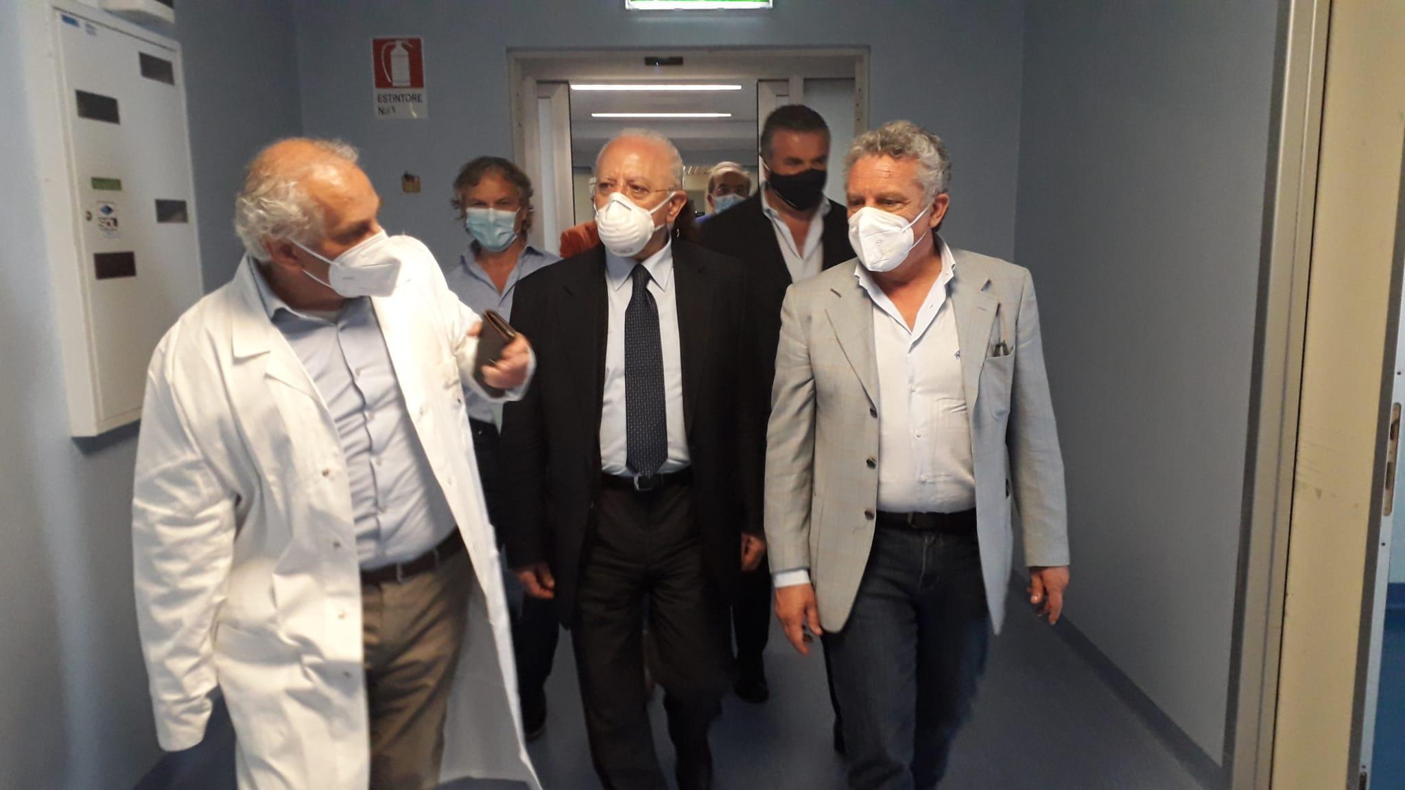 Agropoli, l'ospedale ridimensionato dall'emergenza covid - Gwendalina.tv