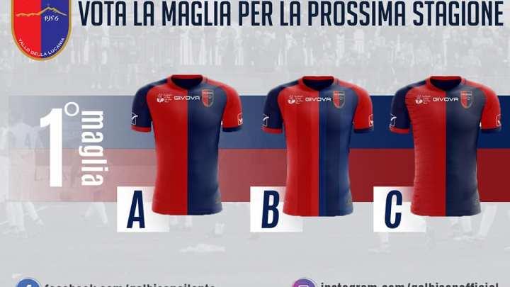 Scegli la maglia della Gelbison per la stagione 2020/2021 - Gwendalina.tv