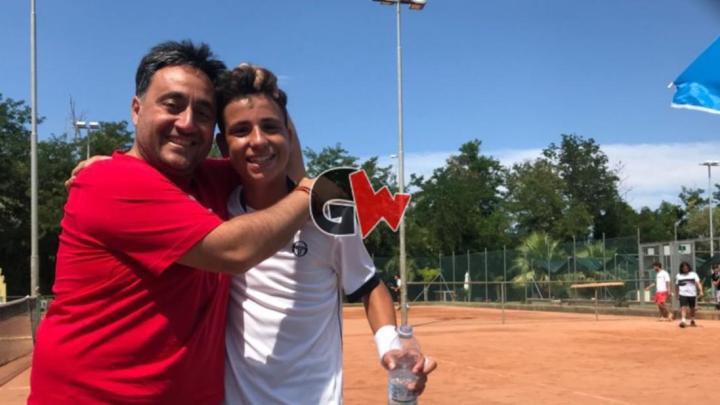 Tennis, esordio in Serie C per il 13enne agropolese Matteo Della Torre - Gwendalina.tv