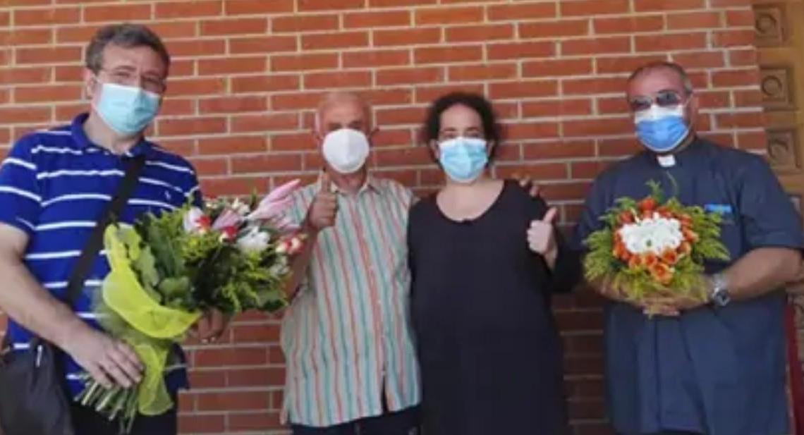 Caggiano, dopo 143 giorni di lotta al COVID Agnese torna a casa - Gwendalina.tv