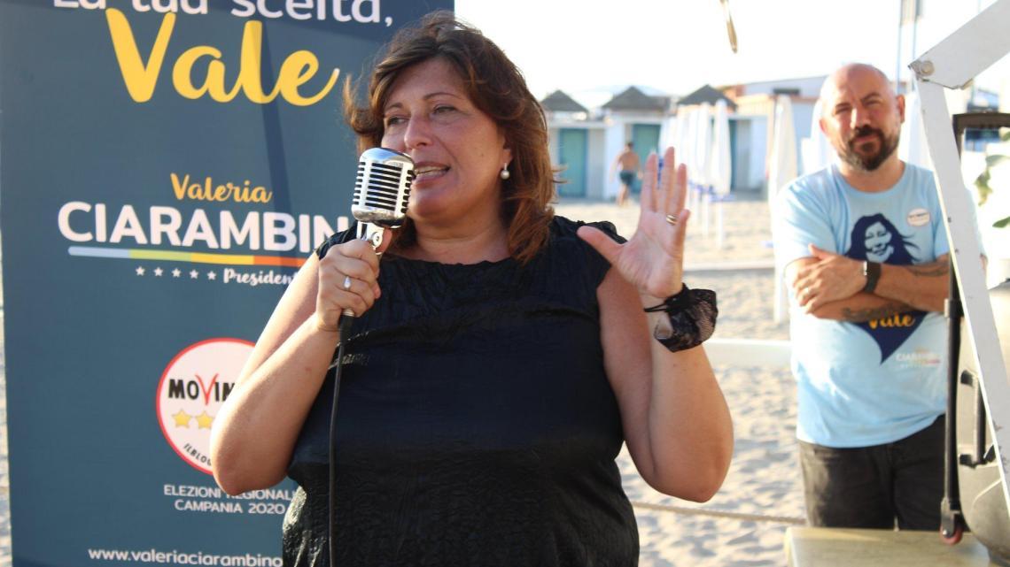 Regionali 2020, Valeria Ciarambino in tour nel Cilento - Gwendalina.tv