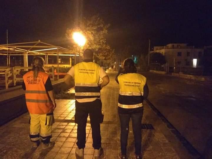 Vibonati, Protezione Civile al lavoro dopo i danni causati dal maltempo - Gwendalina.tv