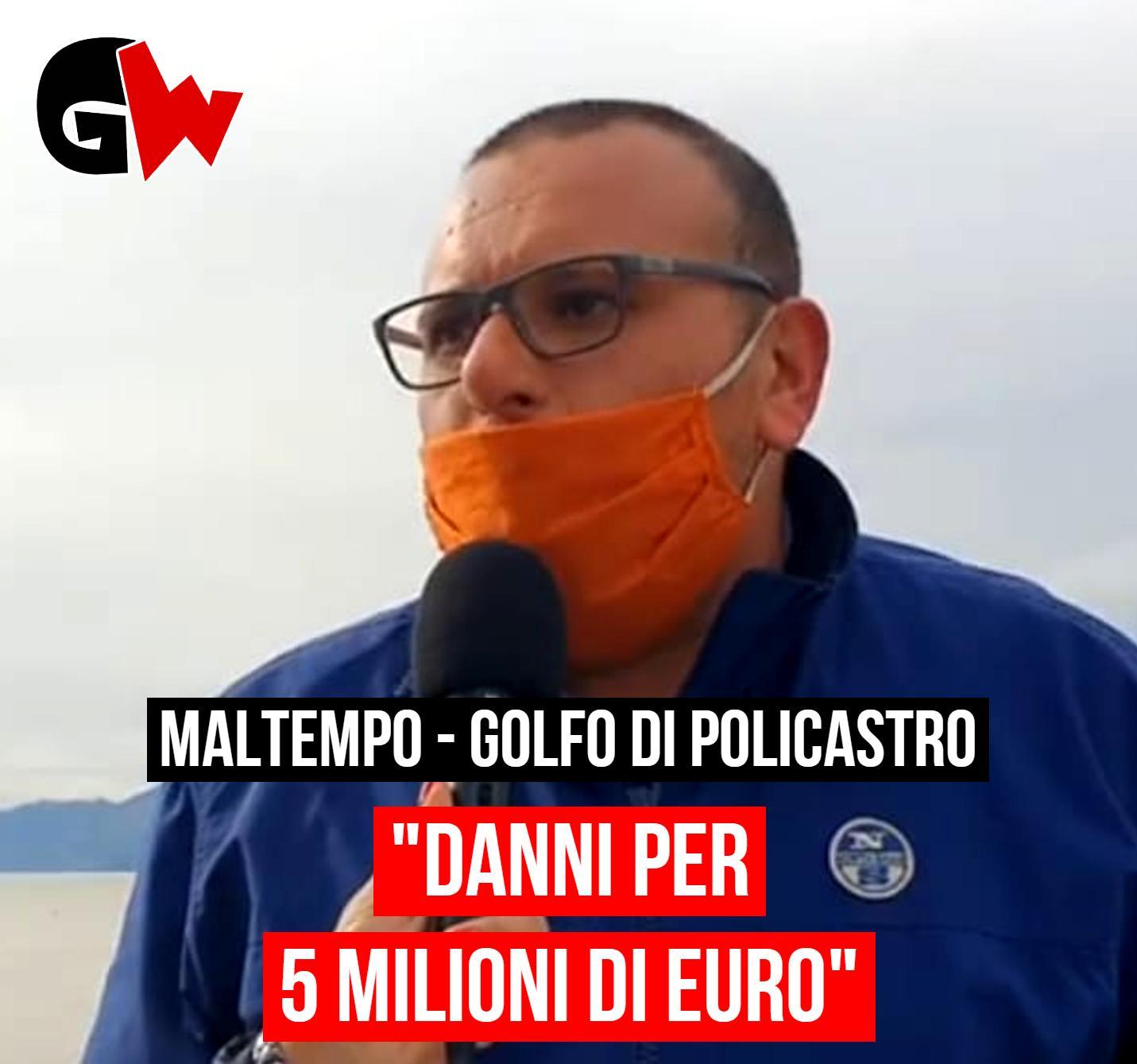 """Maltempo Golfo di Policastro: """"Danni per oltre 5 milioni di euro"""" - Gwendalina.tv"""